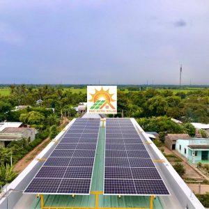 Điện năng lượng mặt trời hòa lưới 5.5KW